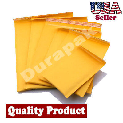 500 PCS 4X7 #000 Bubble Lined Self-Seal Mailer Envelope Shipping Cushion Protect