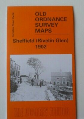 Old Ordnance Survey Maps Sheffield Rivelin Glen Yorks 1902 Godfrey Edition New