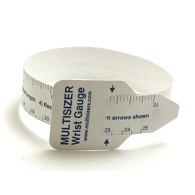 Multisizer Wrist Gauge Sizer  -   Good For Buying Watches And Bracelets On E Bay