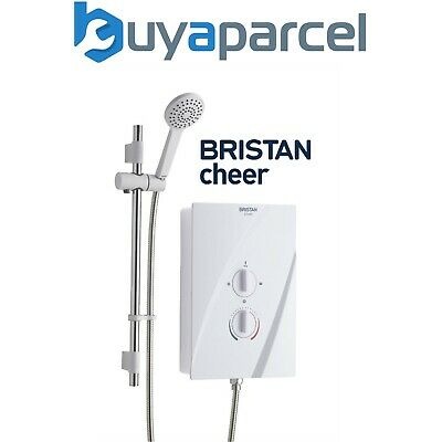 Showerforce SF Bristan EVO NEWTEAM NT 9.5KW ELECTRIC SHOWER White + Chrome Kit