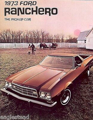 Auto Brochure - Ford - Ranchero - Pickup Car - 1973 (AB17)