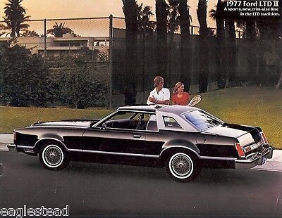Auto Brochure - Ford - LTD II - Car - 1977 (AB24)