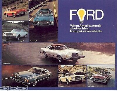 Auto Brochure - Ford - Lineup - Car - 1977 (AB33)