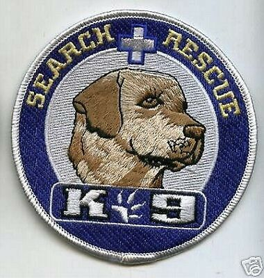 Military Canine Swat Police K-9 Labrador Canine Search&rescue Canine K-9 Patch