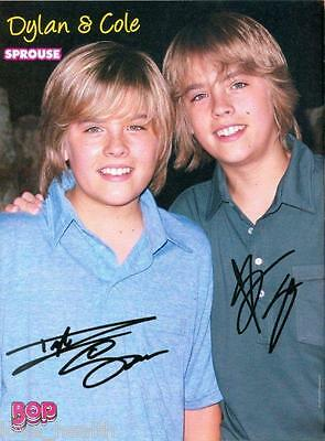 DYLAN & COLE SPROUSE - MIRANDA COSGROVE - iCARLY - MAGAZINE PINUP - POSTER