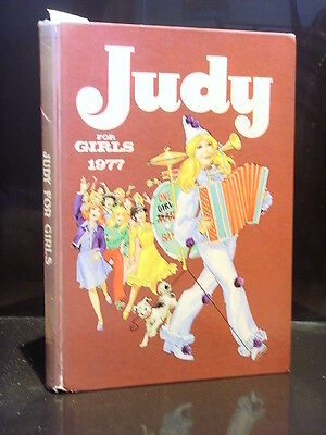 Dc Thomson Judy For Girls 1977 Gc