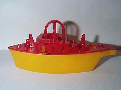 LIONEL 1950'S WHISTLING TUG BOAT ? SHIP TOY BOAT HARD PLASTIC MINT CONDITION