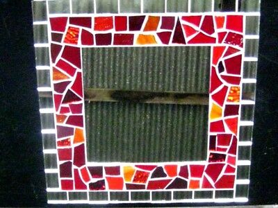 Red Deluxe Mosaic Mirror Kit Everything you need to make this Great Mirror.