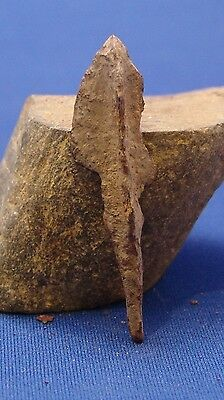 Ancient Roman Bronze tri blade  Arrowhead