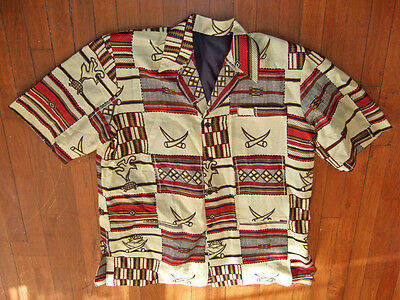 Ethnic Inspiration Short Sleeve Cotton Jacket~American Indian detail~NWOT