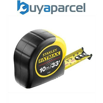 Stanley FatMax Tape Measure Blade Armor 10m / 33ft 0-33-805 STA033805