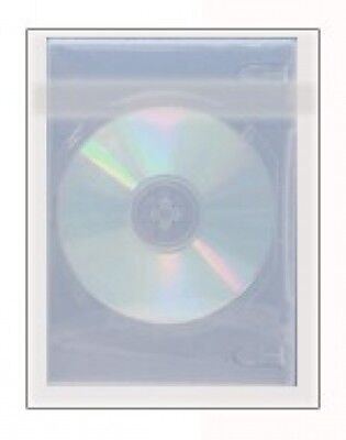 2000 OPP Plastic Wrap Bag for Slim DVD Case 7mm