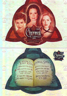 Charmed Connections Trading Cards ~ PARALLEL BASE CARD LOT (67)