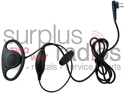 New D Ring PTT Headset For Motorola Radios CLS1110 CLS1410 RDU2020 BPR40 RDU2020