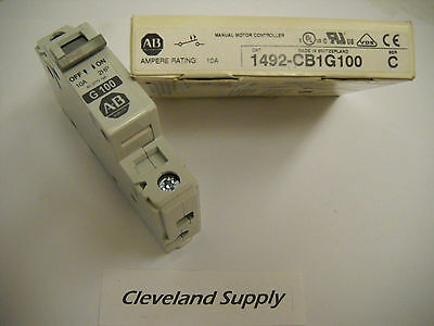 Allen Bradley 1492-Cb1G100  Manual Motor Controller 10A New In Box