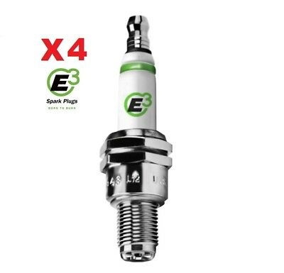 E3 DiamondFire spark plugs x4 for HONDA CBR600 & CBR900 FIREBLADE