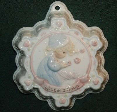 Precious Moments WINTER's SONG - jello mold wall hanging