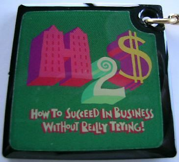 How To Succeed In Business Without Really Trying! - B'way Souvenir Keychain -New