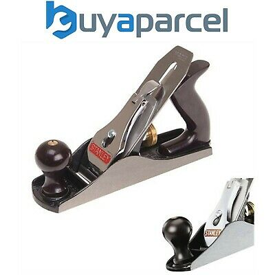Stanley 4 Metal Smoothing Joinery Plane 2 Inch 1-12-004 STA112004 45mm Blade