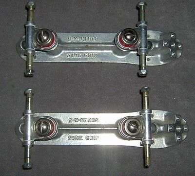 Sure Grip Super-X-5 Roller Skate Plates USED Plates in good Condition (D)