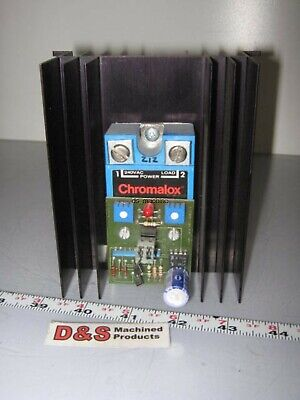 Chromalox 4115 207 50 SSR Solid State Relay w/Current Adapter 4-20mA