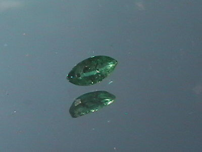 Faceted loose natural Emerald 2x5 mm 0.15 ct Reiki
