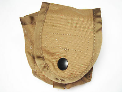 4 US Military Army Marines MOLLE II Hand Grenade Pouch Coyote Tan Brown SDS New