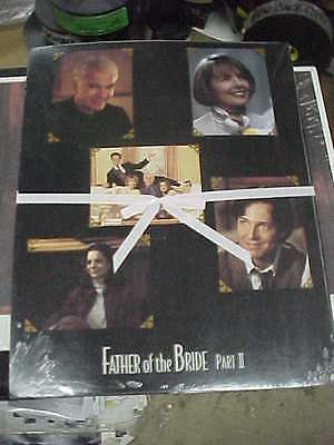 FATHER OF THE BRIDE 2, orig sealed in plastic LCS (Steve Martin, Diane Keaton)