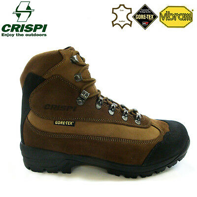 Crispi Luberon Hunting Walking Shooting Hiking Leather Boots Hand Made In Italy