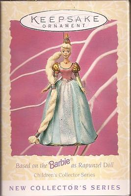 "Hallmark 1997   ""BARBIE AS RAPUNZEL ""       **NEW** Ornament"