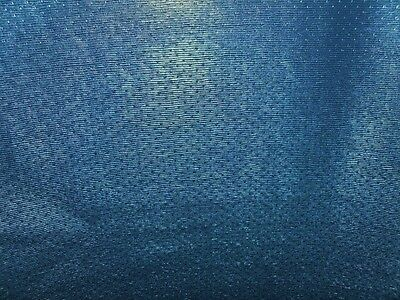 """Synthetic Leather Vinyl Upholstery Fabric 54"""" W - Phantom Blue -Sold by the Yard"""