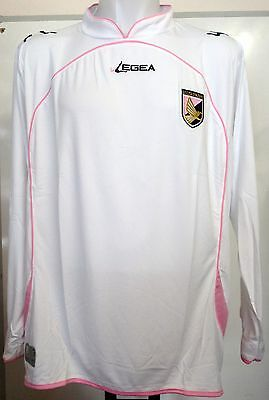 Palermo White L/s 2010/11 Away Shirt By Legea Size Adults Xl Brand New With Tags
