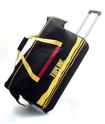Mens Ladies Black Dance Ballroom Trolley Shoe Travel Bag by Topline