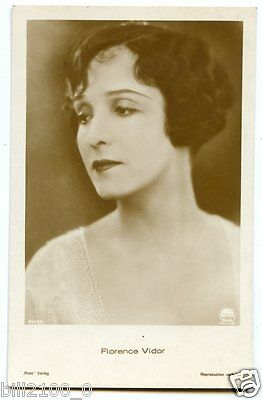 Carte Postale Photo Ross....florence Vidor...actrice