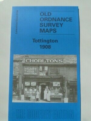 Old Ordnance Survey Maps Tottington Lancashire 1908  Sheet 87.04 Godfrey Edition