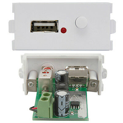 USB Charger Socket Module/Modular Wall Face Plate Outlet –Universal Power Supply