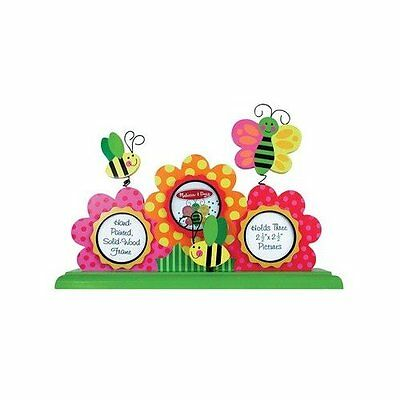 Melissa & Doug 3 Flowers TableTop Picture Frame (NEW) 3251