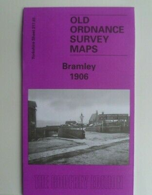 Old Ordnance Survey Detailed Maps Bramley Yorkshire 1906 Godfrey Edition New