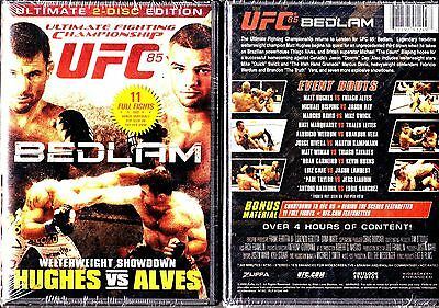 UFC 85 - Hughes Vs. Alves - Bedlam (DVD, 2009, 2-Disc Set)
