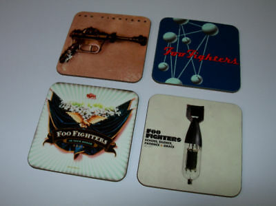 The Foo Fighters Album Cover COASTER Set