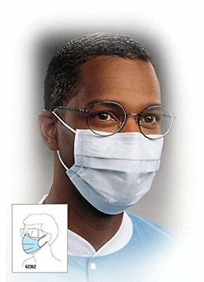 Kimberly Clark 62362 Masks Blue-1 CASE(10 Boxes of 50 per Box) FREE SHIPPING