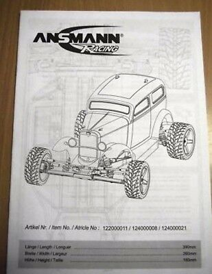 New Ansmann Hot Rod Instructions / Build Manual