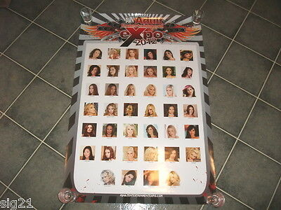 2012 AVN Adult Video Expo Awards Porn Star 24x36 Poster