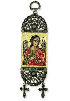 """Saint St Michael Tapestry Icon Banner For Room Wall Door Decoration Cross 8"""""""