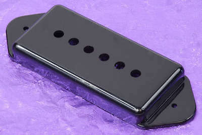 Lindy Fralin Black P90 Dog Ear Pickup Cover The World's Best Dogear P-90 Cover