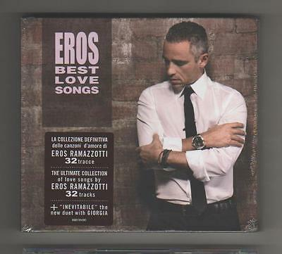 Eros Ramazzotti - Best Love Song - 2 Cd + Libretto Ltd Ed - Nuovo Sigillato Mint