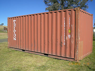 Shipping Container 20' GP, Used, Weather Proof, Good Doors & Seals, Aubury NSW
