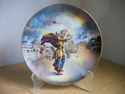 Noah and the Ark, collector plate