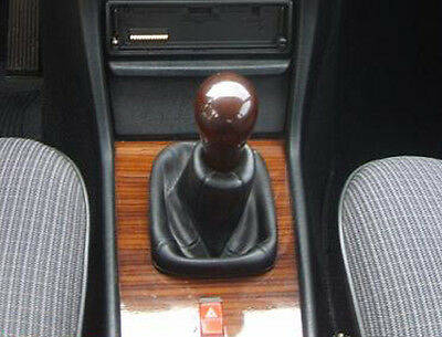 Genuine Leather Gear Shift Boot Gaiter Cover Sleeve fit Mercedes E W123 1976 -86