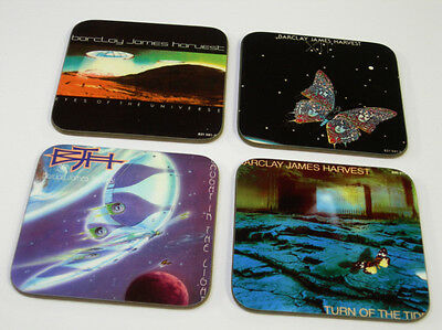 Barclay James Harvest Album Cover COASTER Set